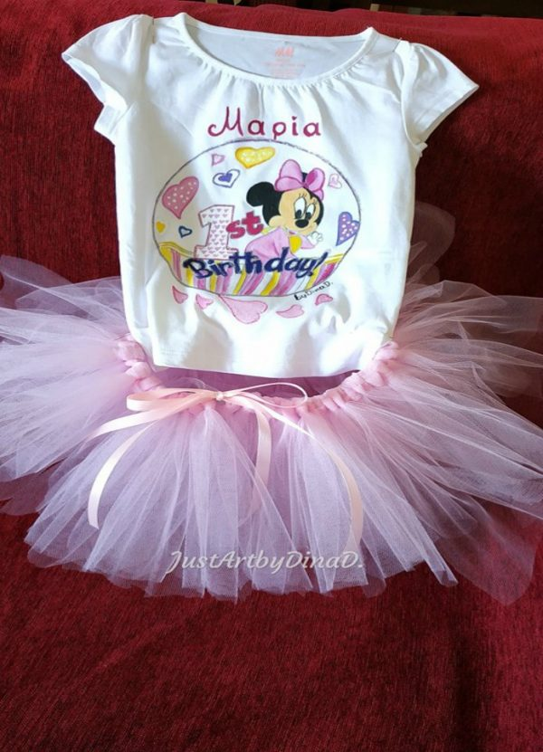 set-tutou-tshirt genethlion minnie