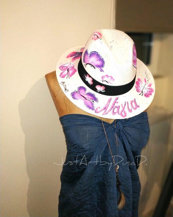 psathino kapelo panama zografismeno petaloudes